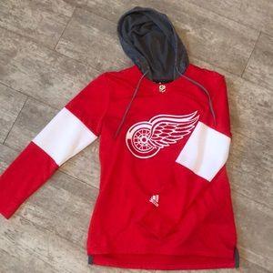 Adidas NHL Redwings sweatshirt.